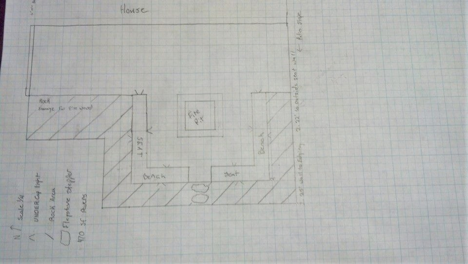 simple patio plan